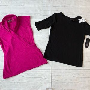 VINCE CAMUTO & RACHEL ZOE small top lot SPRING L